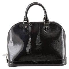 Alma Handbag Electric Epi Leather PM