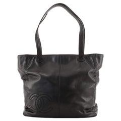 Vintage CC Shoulder Bag Lambskin Large