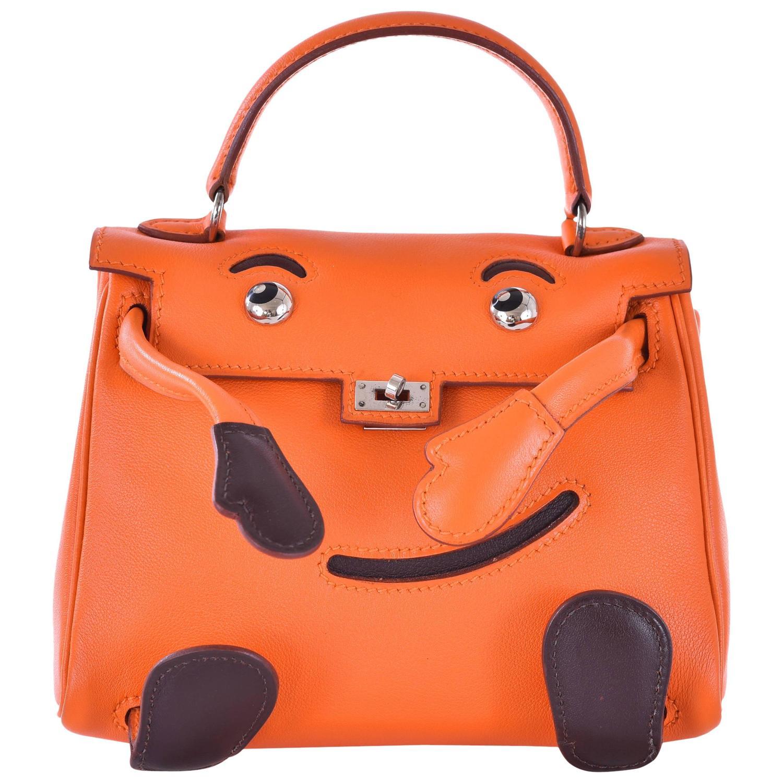 hermes garden party sizes - Hermes Kelly Doll Bag Orange Idole (Kelly Doll) Gulliver Orange ...