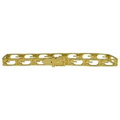 Gucci Goldplate G  Metal Belt