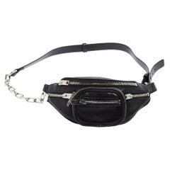 Alexander Wang Black Leather Mini Attica Belt Bag