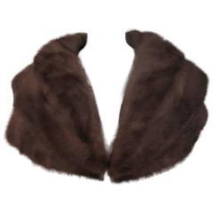 elegant mink fur stole