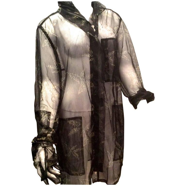 Fendi Runway Mesh Jacket 1