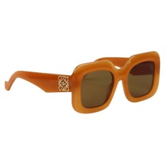 Loewe Oversized Square Frame Acetate Sunglasses