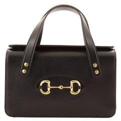 Gucci 1955 Horsebit Boston Bag Leather Small