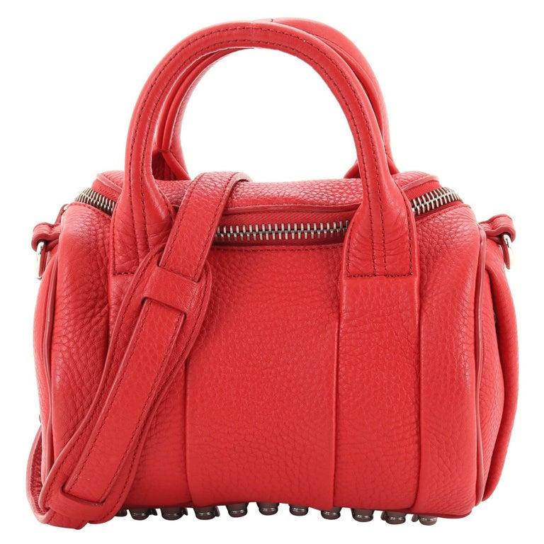 Alexander Wang Rockie Satchel Leather Mini For Sale