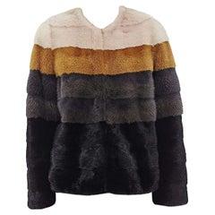 Robert Rodriguez Mink Fur Jacket Small