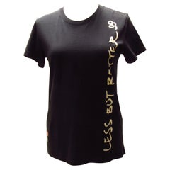 """Vintage Undercover Black """"Less But Better"""" Tee"""