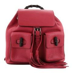Gucci Bamboo Tassel Backpack Leather Medium