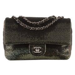 Chanel Flap Bag Ombre Sequins Medium