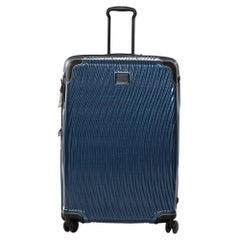 Tumi Blue/Black Plastic Rollenkoffer Worldwide Trip Trolley