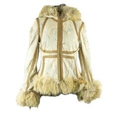 2003 Alexander McQueen Mixed Fur Jacket