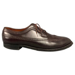 ALDEN 58872 Size 14 Color 8 Perforated Leather Wingtip Lace Up Shoes