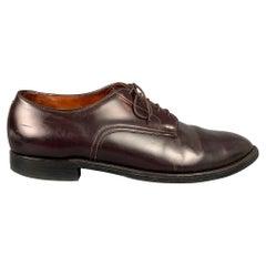 ALDEN 53501 Size 14 Color 8 Cordovan Leather Lace Up Shoes