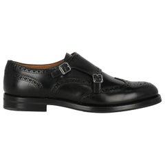 Church'S Women Loafers Black Leather EU 39