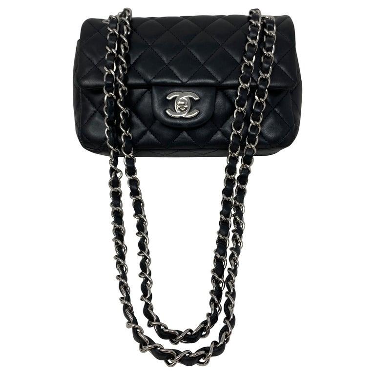 Chanel Small Black Crossbody Bag For Sale