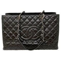 Chanel XL Black Grand Shopper Tote