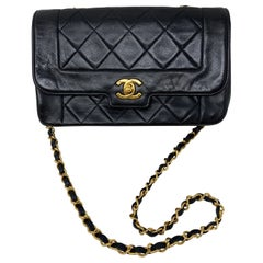 Chanel Black Diana Vintage Bag