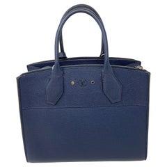 Louis Vuitton Navy Steamer Bag