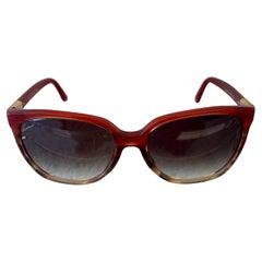 Gucci Tortoise Retro Style Sunglasses