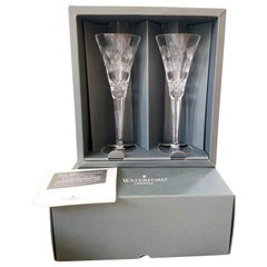 Waterford PROSPERITY Crystal Millennium Champagne Toasting Flute Set