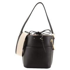 Chloe Roy Bucket Bag Leather Small