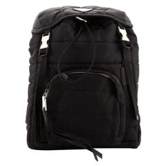 Prada Bomber Backpack Tessuto Small