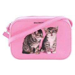 Balenciaga Everyday Camera Bag Printed Leather XS
