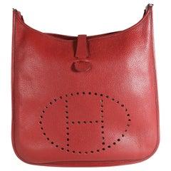 Hermès Rouge H Clémence Evelyne II TGM PHW