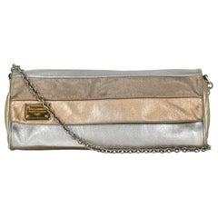 Dolce & Gabbana Women Shoulder bags Bronze, Gold, Silver Leather