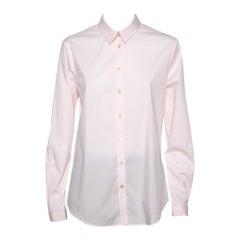 Burberry Brit Pink Cotton Button Front Shirt L
