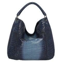 Bottega Veneta Women Shoulder bags Navy Leather