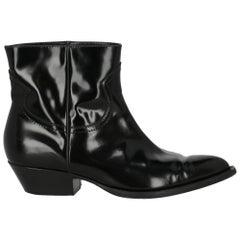 Philosophy Women Ankle boots Black Leather EU 39