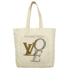 Louis Vuitton Women Handbags Ecru Fabric