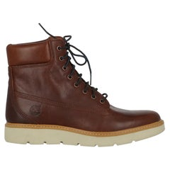 Timberland Women Ankle boots Brown Leather EU 40