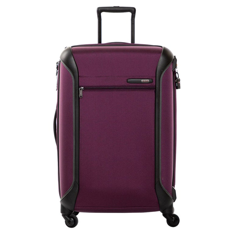 TUMI Purple Nylon Medium Gen 4.2 Lightweight Trip Packing Case Luggage For Sale