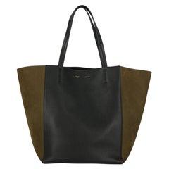 Celine Women Handbags Black, Green Leather