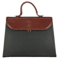 Trussardi Women Handbags Black, Brown Leather