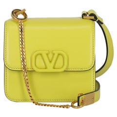 Valentino Women Shoulder bags Yellow Leather