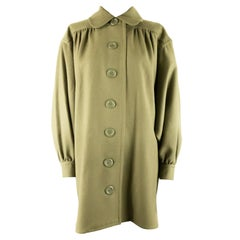 1970s Balmain Ivoire Khaki Jacket