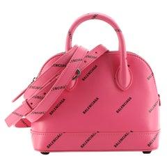 Balenciaga Ville Bag Printed Leather XXS