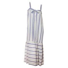 Saint Laurent Rive Gauche Stripe Dress