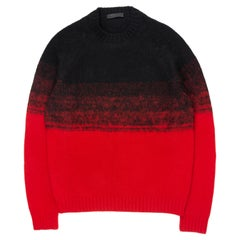 Prada AW2016 Gradient Sweater
