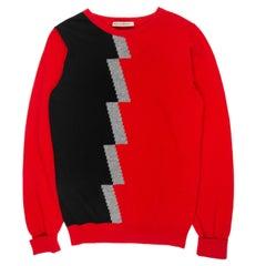 Balenciaga SS2012 Geometric Cashmere Sweater