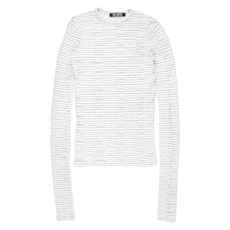 Raf Simons SS2008 Textured Long Sleeve Shirt