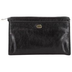 Gucci  Interlocking G Pouch Leather