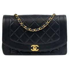 Chanel, Diana in black leather