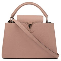 Louis Vuitton, Capucines in pink leather