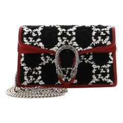 Gucci Dionysus Bag GG Tweed Super Mini