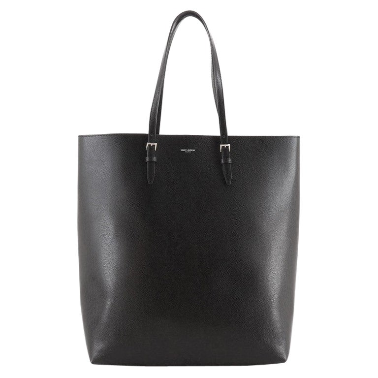 Saint Laurent Belted Open Tote Leather